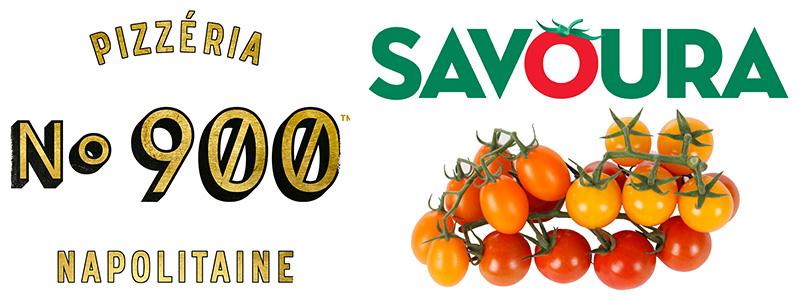 Pizza 900 logo Savoura