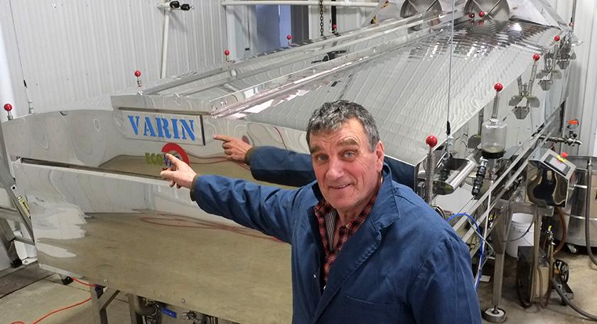 Harold Varin acericulteur