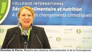 """Développons des projets innovants en transformation alimentaire"" Dominique Anglade"