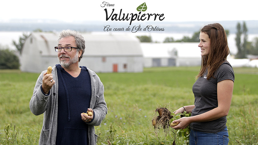 Christian Begin et Stephanie Vaillancourt Ferme Valupierre