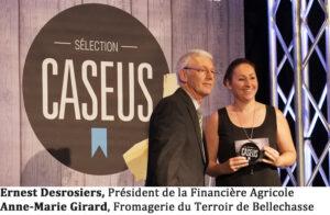 Ernest Desrosiers, Président de la Financière Agricole Anne-Marie Girard, Fromagerie du Terroir de Bellechasse