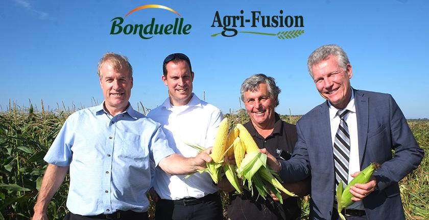 Gilles Audet Agro Quebec Bonduelle deux