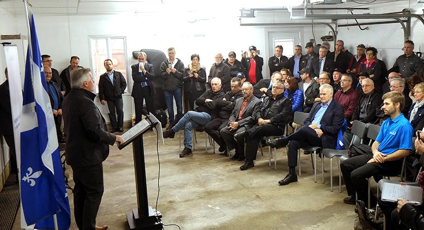 Laurent Lessard efficacité énergétique Agro Quebec