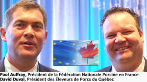 David Duval Président des Éleveurs de Porcs du Québec