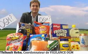 Thibault Rehn, Coordonnateur de VIGILANCE OGM