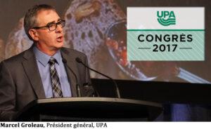 Marcel Groleau, Président général, UPA