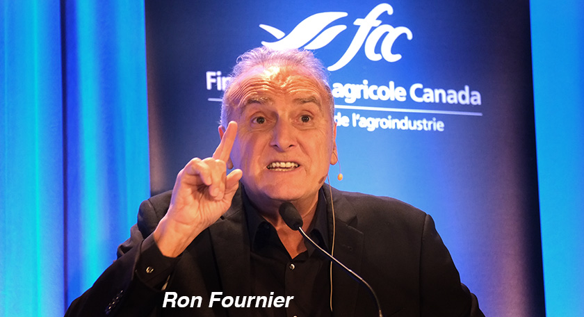 Ron Fournier FAC Producteurs Agro Quebec