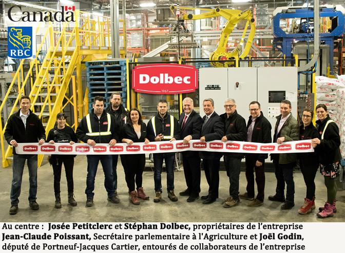 DOLBEC : usine 4.0 à St-Ubalde