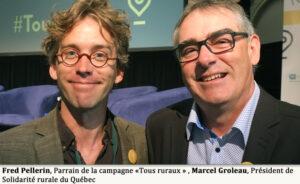 Fred Pellerin et Marcel Groleau