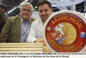 Abdel Ould Baba Ali et son fils Yassin Ould Baba Ali, les nouveaux propriétaires exploitant de la Fromagerie Le Baluchon de Ste-Anne de la Pérade.