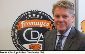 Daniel Allard, président Distribution CDA.