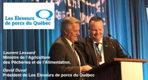 Laurent Lessard, Eleveurs, Agro Quebec