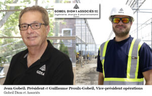 Jean Gobeil et Guillaume Proulx-Gobeil