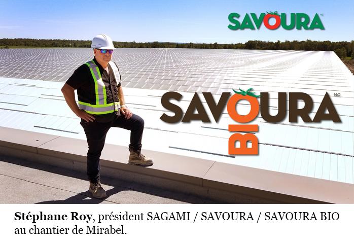Stéphane Roy president Savoura Bio