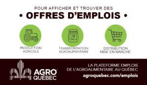 Emplois Agro Québec