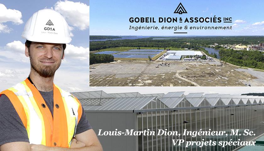 Louis-Martin Dion ingénieur