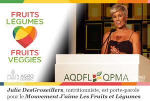 Julie DesGroseillers AQDFL JMFL