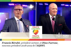 Francis Bérubé, Dino Farrese, AQDFL