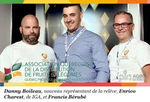 Danny Boileau, Enrico Charest, Francis Bérubé