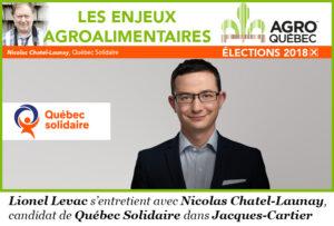 Nicolas Chatel-Launay, Québec Solidaire