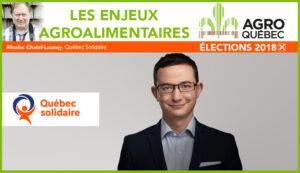Nicolas Chatel-Launay Québec Solidaire