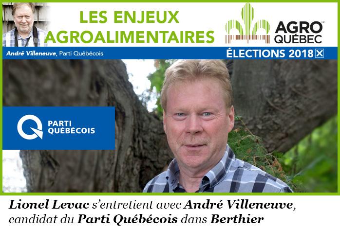 André Villeneuve PQ