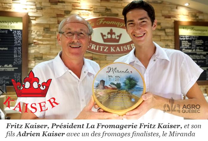 Fritz Kaiser et Adrien Kaiser
