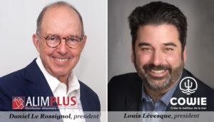 Daniel Le Rossignol, Alimplus, Louis Lévesque, Cowie Inc