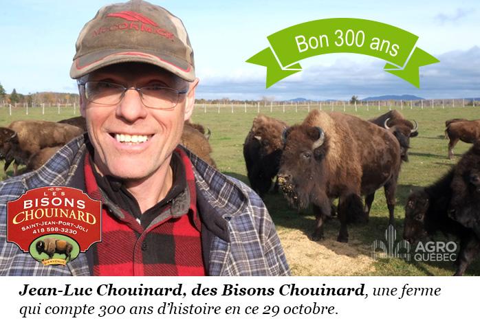 Jean-Luc Chouinard, Bisons Chouinard