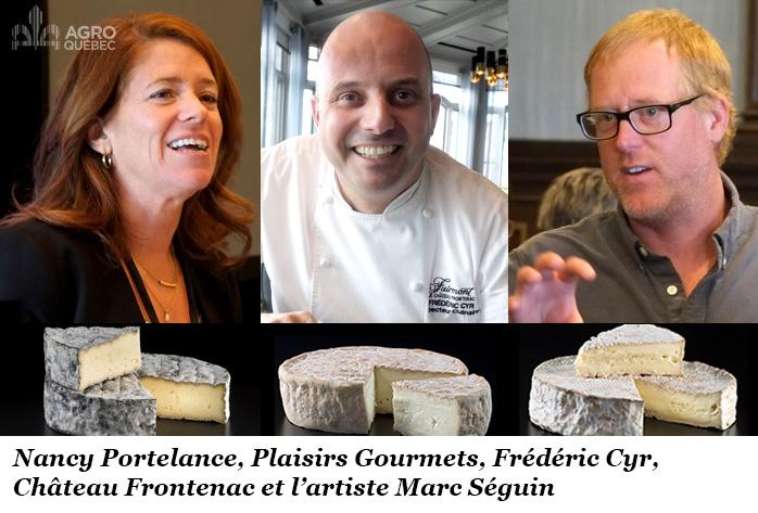 Nancy Portelance, Frédéric Cyr, Marc Séguin, Fromagerie de L'Isle-aux-Grue