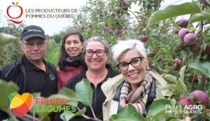 Mario Bourdeau, Sophie Perreault, Stéphanie Levasseur et Julie DesGroseillers