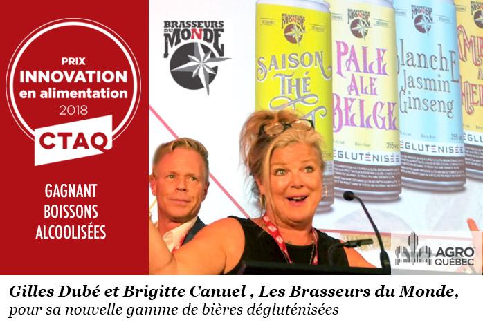 Gilles Dubé, Brigitte Canuel, Les Brasseurs du Monde