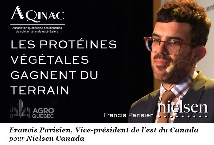 Francis Parisien, Nielsen Canada, AQINAC