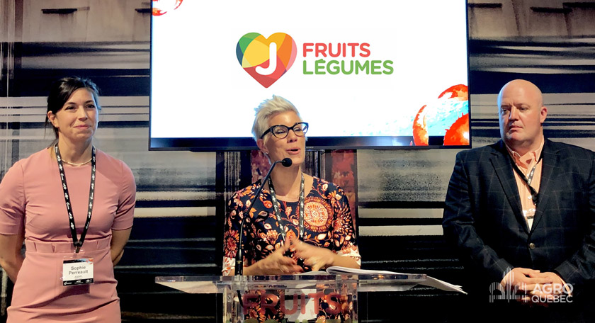 Sophie Perreault, Julie DesGroseillers, Dino Farrese