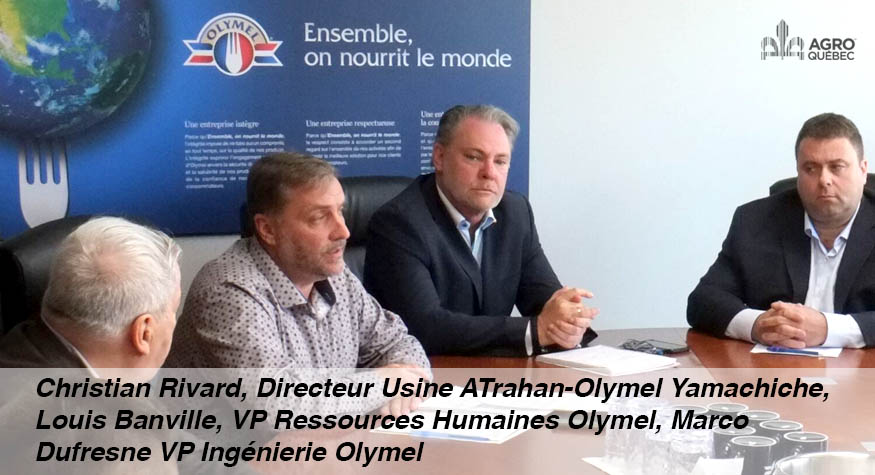 Christian Rivard, Louis Banville, Marco Dufresne