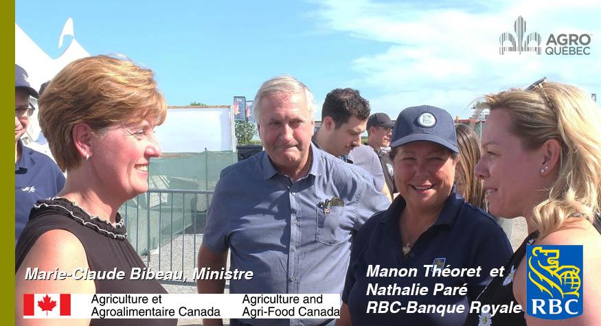 Marie-Claude Bibeau, Manon Théoret, Nathalie Paré