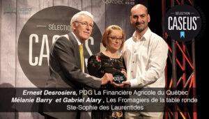 PRIX CASEUS 2019, Agro Quebec, Lionel Levac