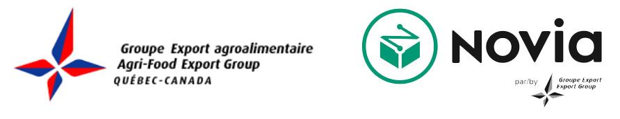 Groupe export, Novia, Communique, Agro Quebec