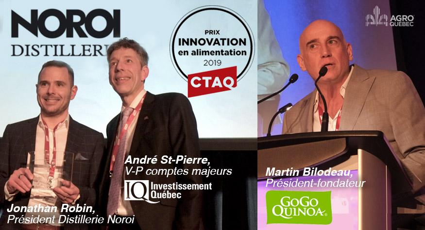 Prix Innovation CTAQ 2019